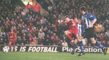 First Goal against Sheffield Wednesday